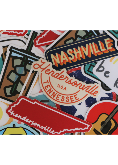 Hendersonville, Tennessee USA  Sticker