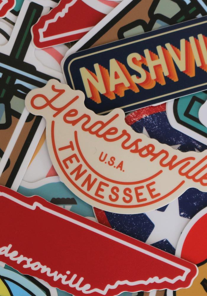 Hendersonville, Tennessee USA  Sticker