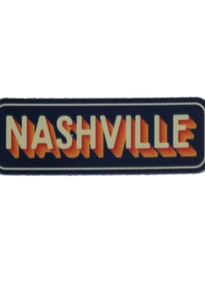 Nashville Vintage Vibe Sticker