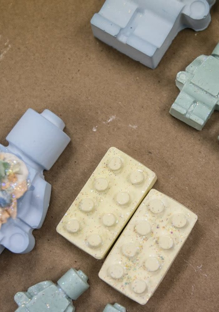"""Brick Builders"" 5-Piece Chalk Set"