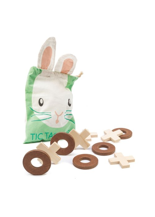 Tic-Tac-Toe Bunny Bag/Grid Mat  Set