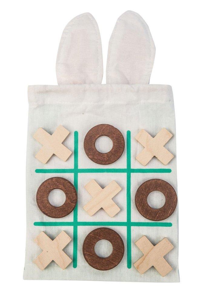 Tic-Tac-Toe Bunny Bag/Grid Mat  Set