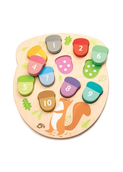 """How Many Acorns?"" Wooden Learn & Play Set"