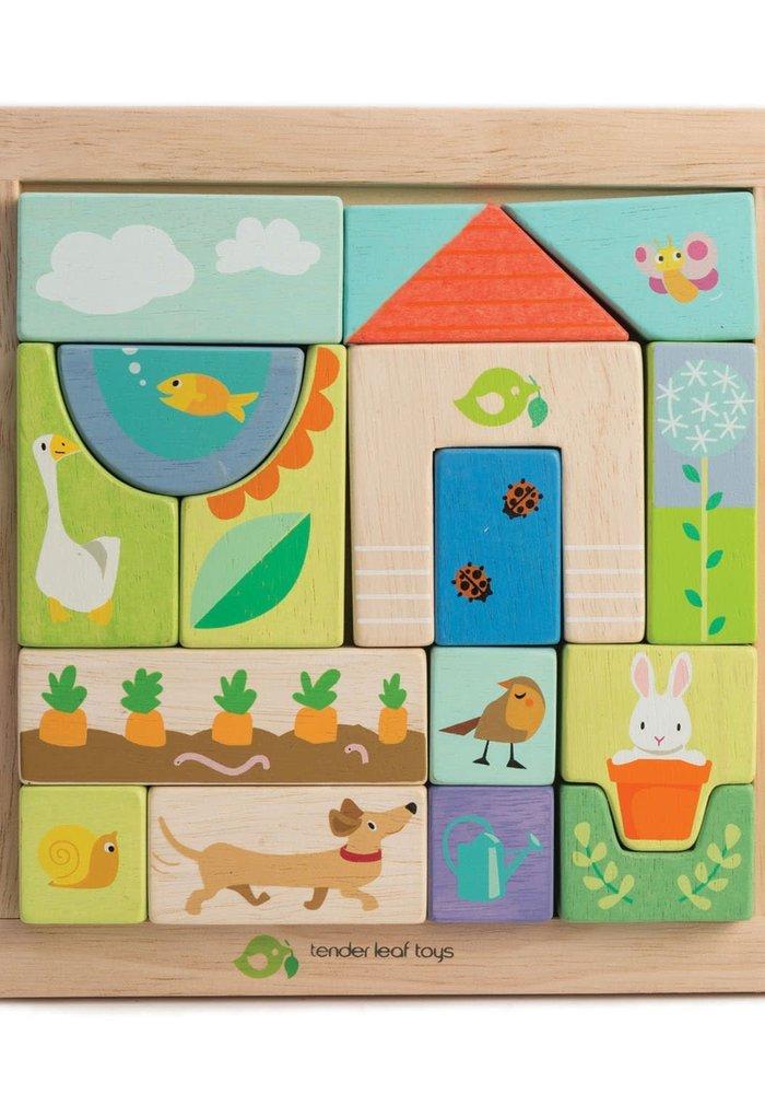 """Garden Patch"" Wooden Puzzle"