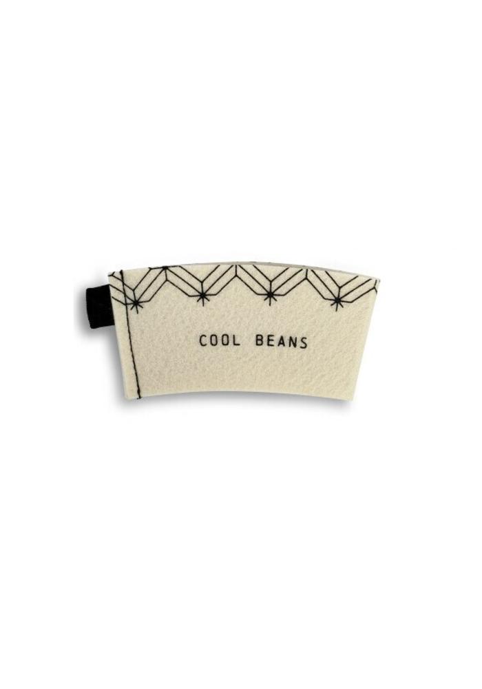 Natural Felt Coffee Cozie Gift Card Set