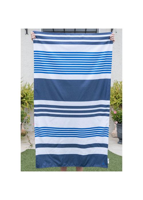 Oversized Microfiber Paradise Stripe Beach Towel