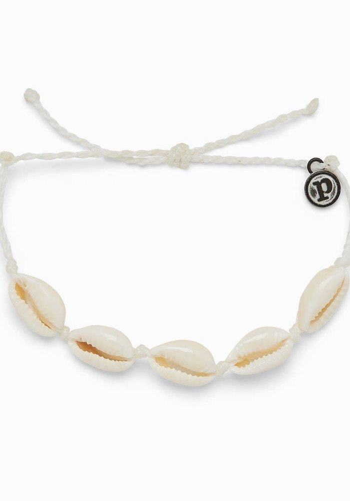 Knotted Cowries Shell Bracelet