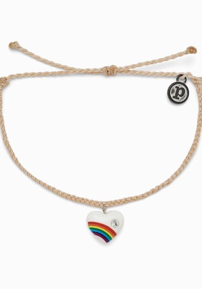 Vanilla Vintage Heart Bracelet