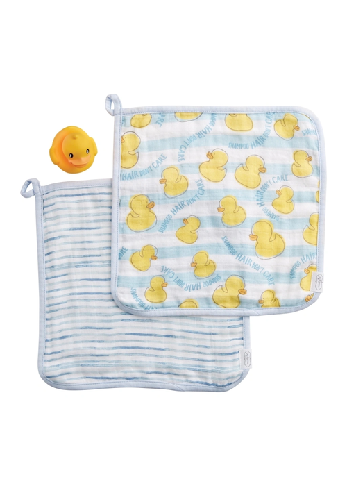 Mudpie Ducky & Washcloth Set