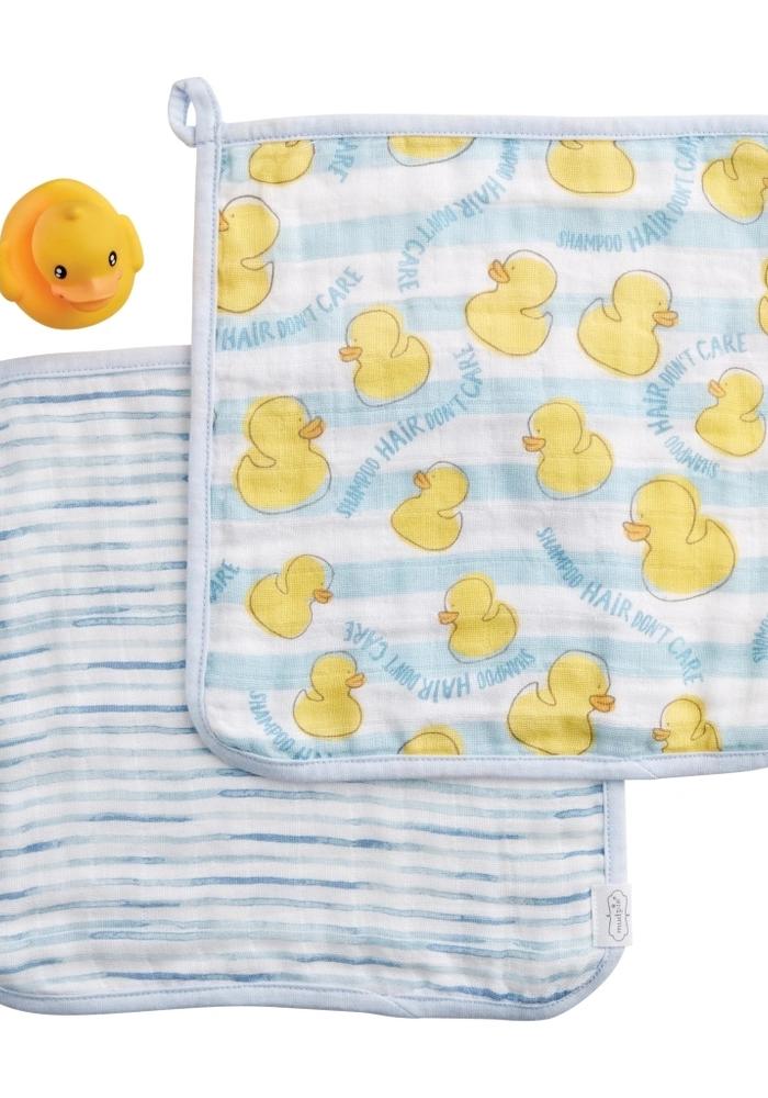 Ducky & Washcloth Set