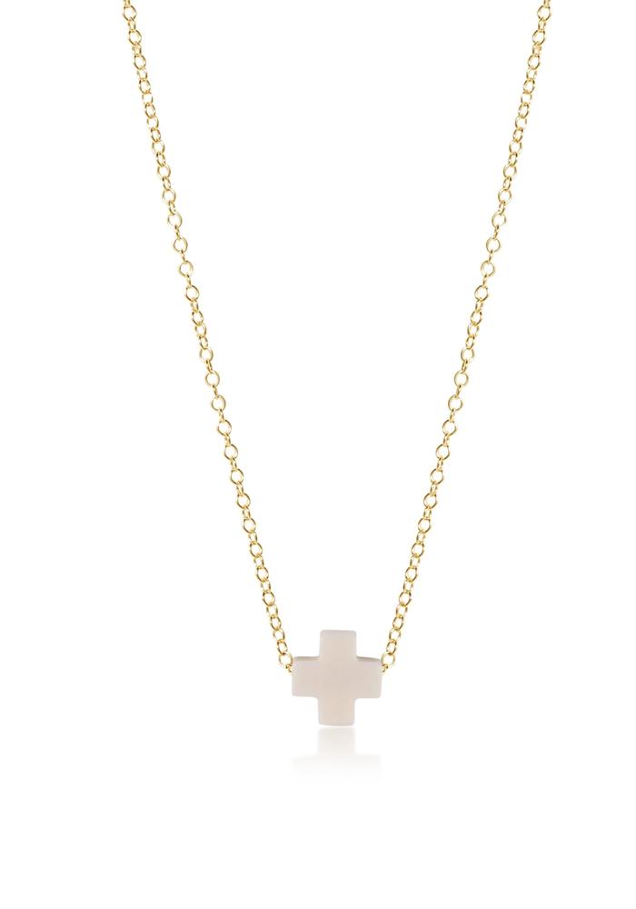 """16"""" Signature Cross Necklace"""
