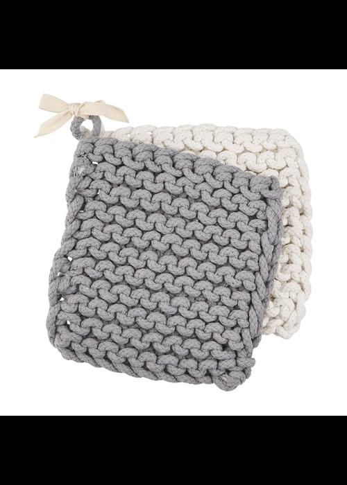 Mudpie Crocheted Pot Holder Set