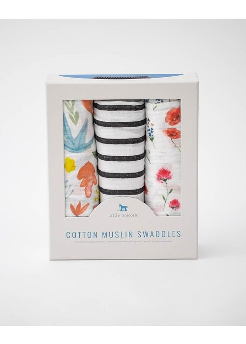 Wild Mum Cotton Muslin Swaddles