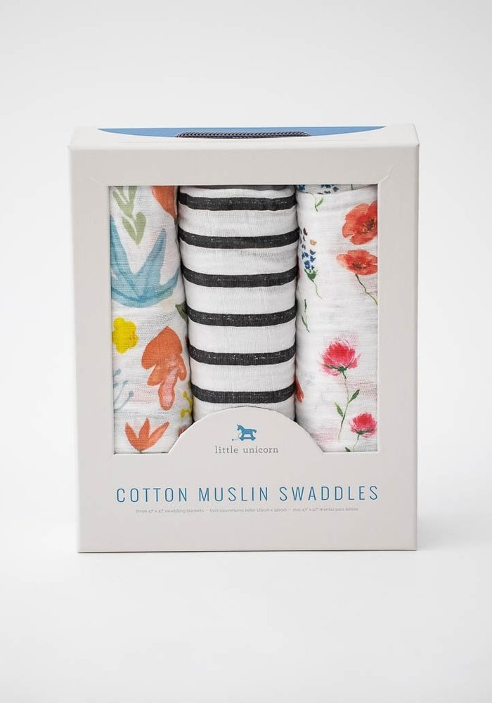 Wild Mum Cotton Muslin Swaddles