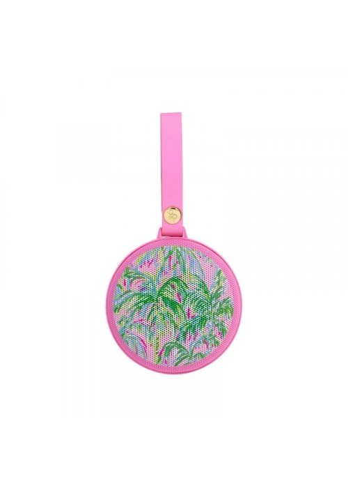 """Lilly Pulitzer """"Suite Views"""" Portable Bluetooth Speaker"""