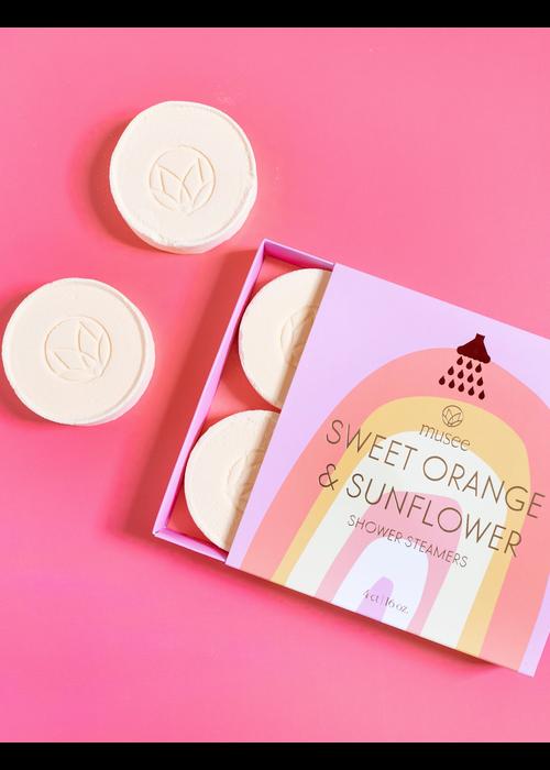 Musee Bath Sweet Orange & Sunflower Shower Steamers