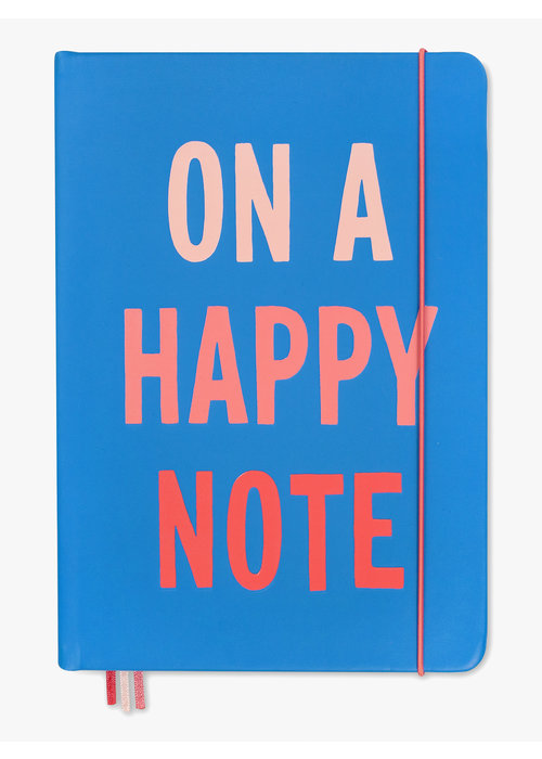 "Kate Spade ""On a Happy Note"" XL Notebook"