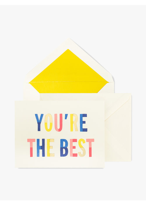 "Kate Spade ""You're the Best"" Blank Notecard Set"