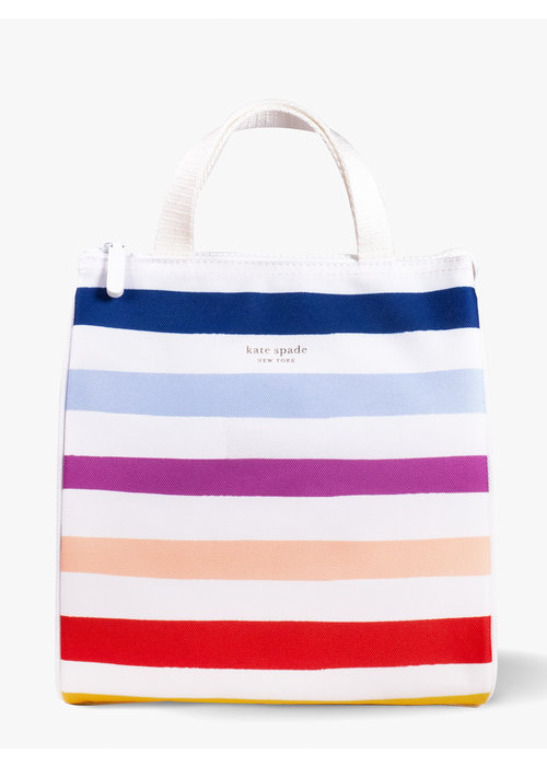 Kate Spade Candy Stripe Lunch Bag
