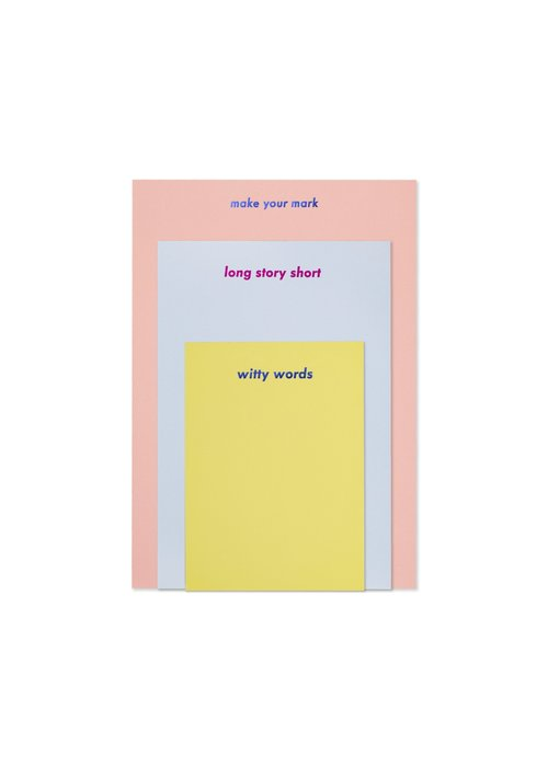 "Kate Spade ""Make Your Mark"" Notepad Set"