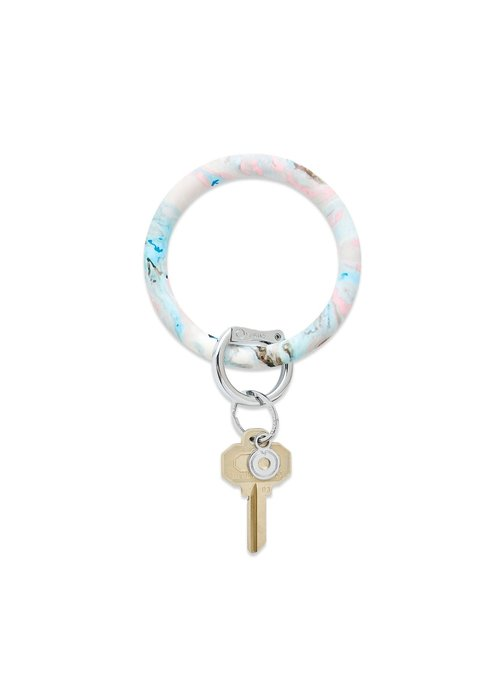 """Oventure """"Pastel Marble"""" Big Silicone O Ring"""