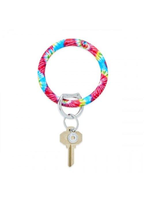Oventure Rainbow Tie Dye Big Silicone O Ring