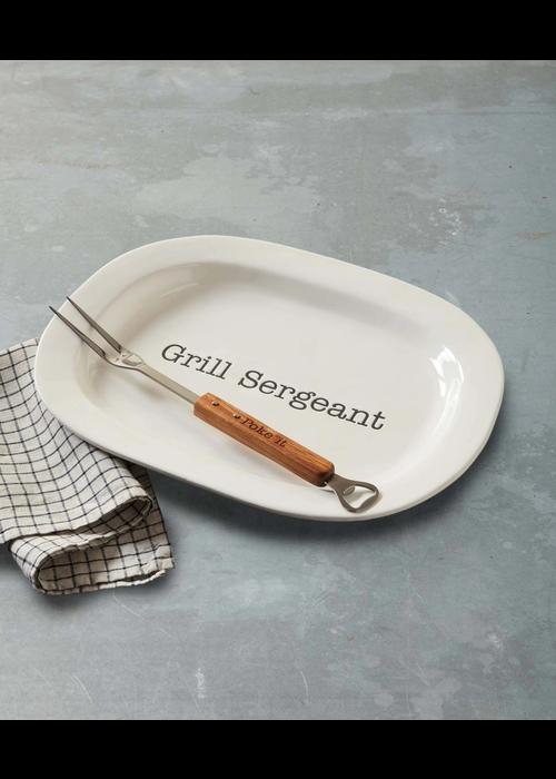 """Grill Sergeant"" Platter Set"