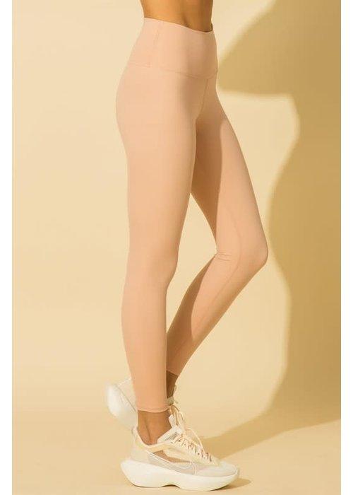 Misty Rose High-Waisted Leggings