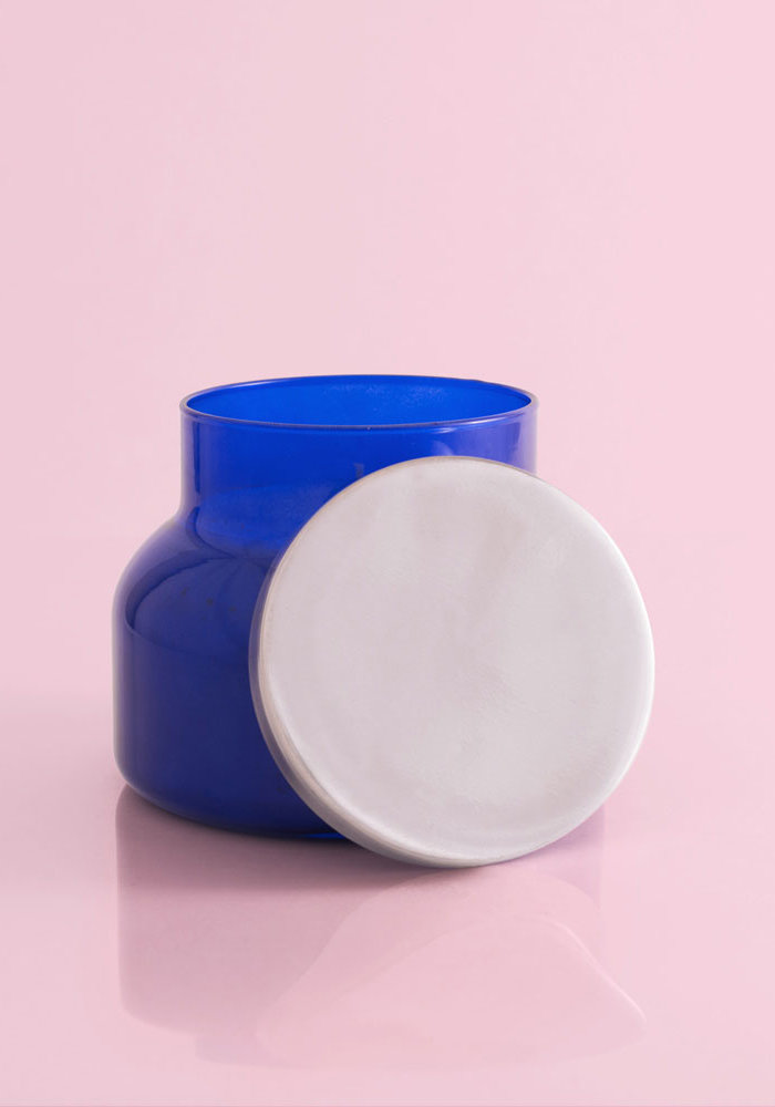 Volcano Original Blue Jar Candle