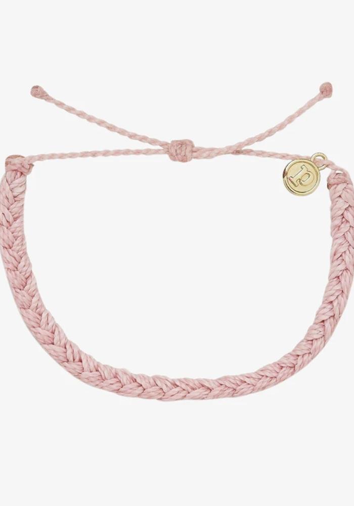 Baby Pink Braided Bracelet