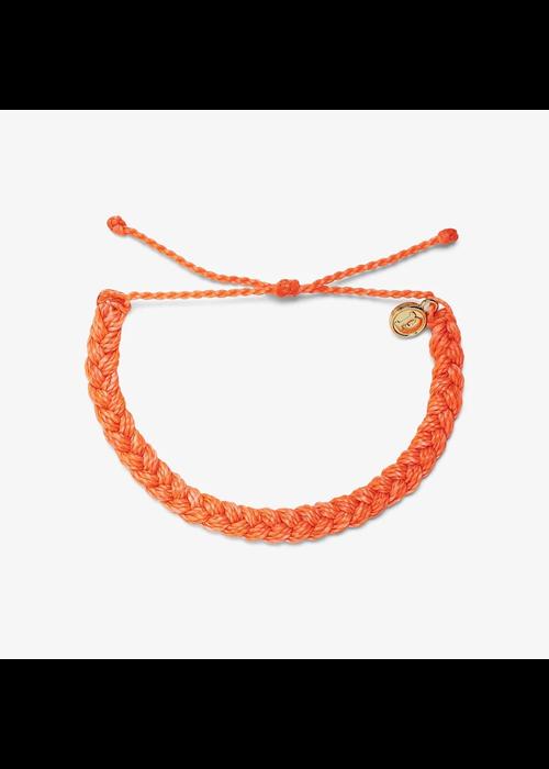 Pura Vida Strawberry Braided Bracelet