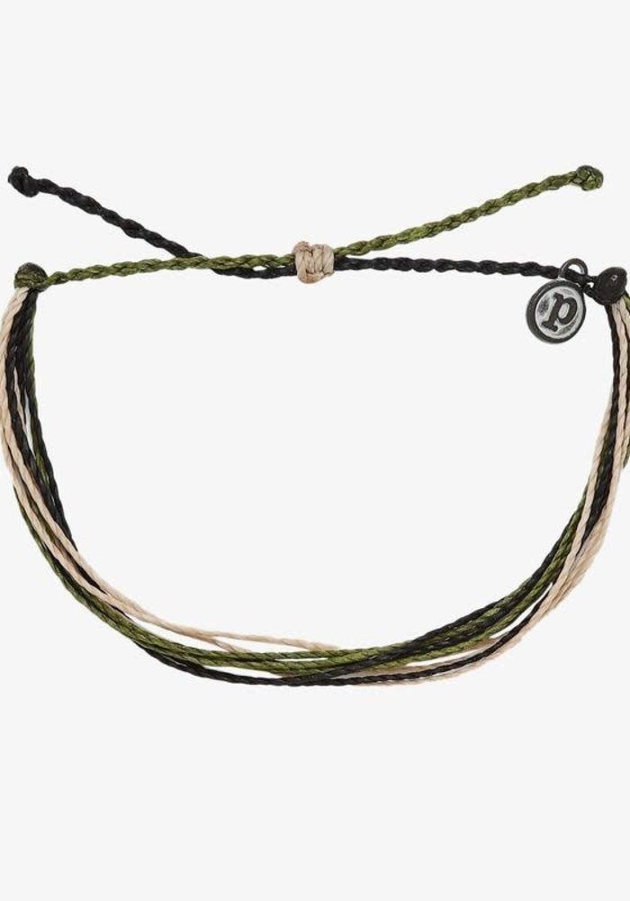 For the Troops Camo Charity Bracelet