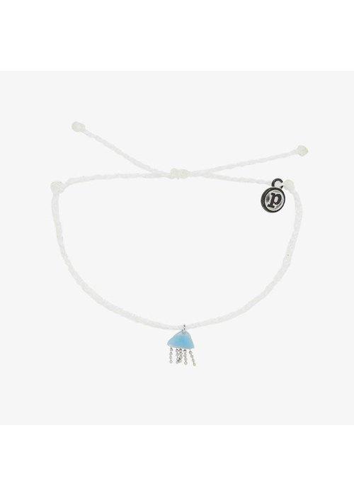 Pura Vida Jellyfish Charm Charity Bracelet