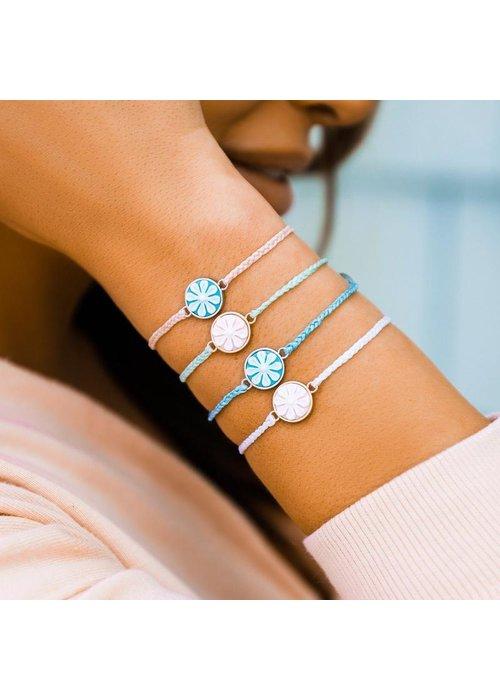 Pura Vida Winterfresh Rose Gold Cameo Charm Bracelet