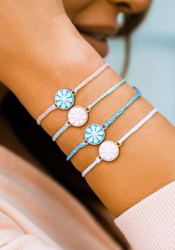 Winterfresh Rose Gold Cameo Charm Bracelet