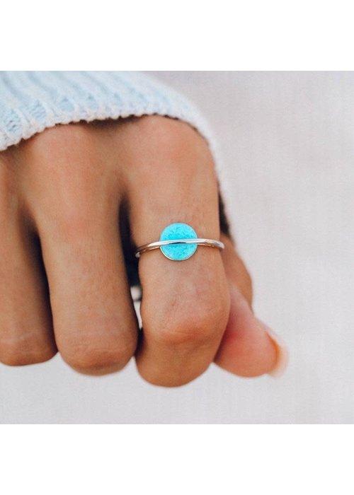 Pura Vida Opal Saturn Ring
