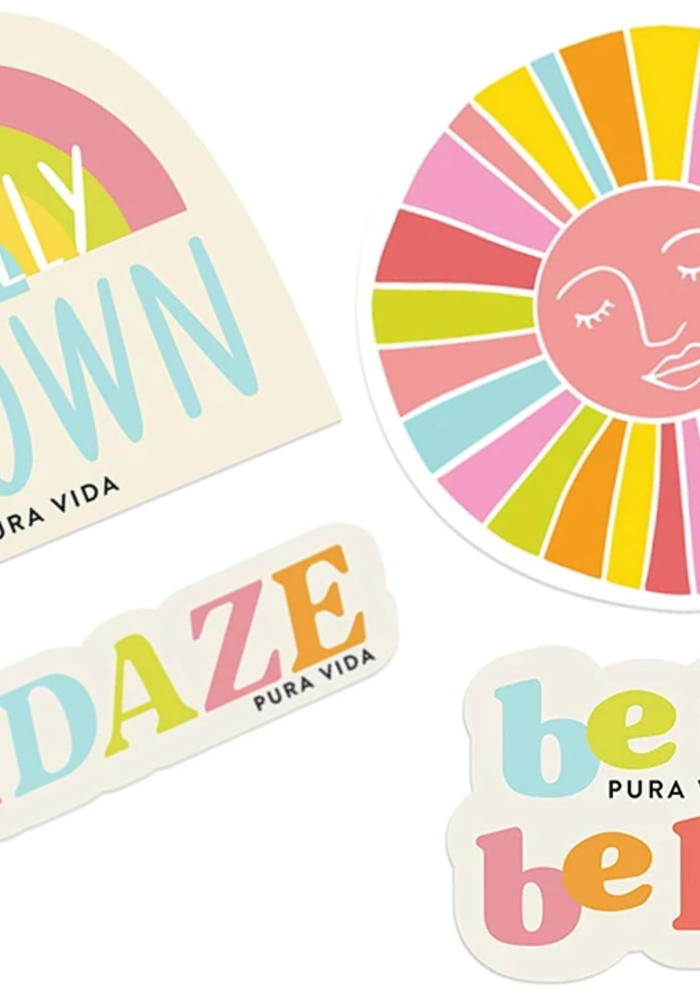 "Pura Vida ""Brightside"" Sticker Set"