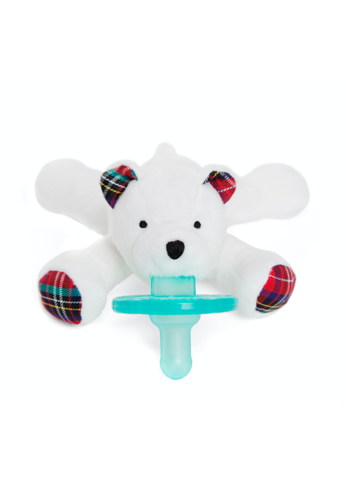 Wubbanub Wubbanub Polar Bear Pacifier