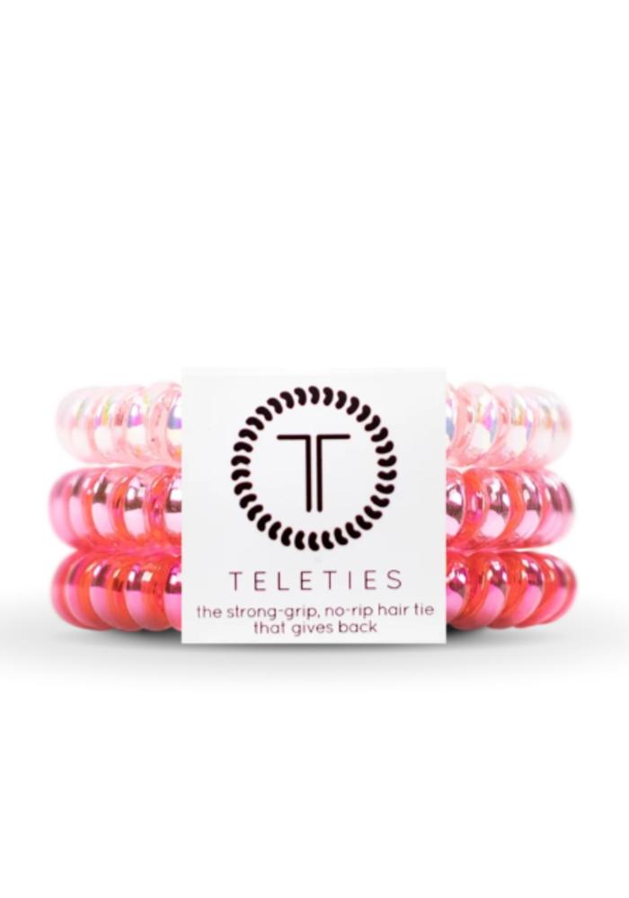 """""""Think Pink"""" Teleties"""