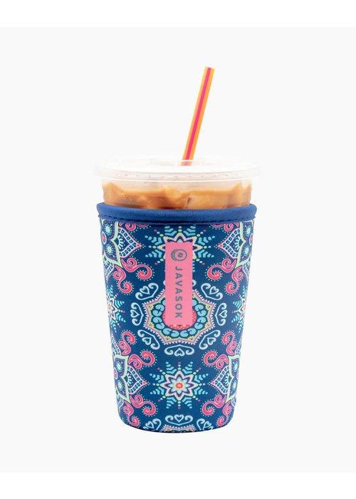 """""""Floral Burst"""" Iced Coffee Java Sok"""