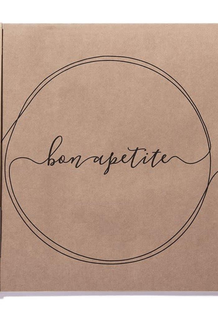 Bon Apetite Paper Placemats (Pack of 25)