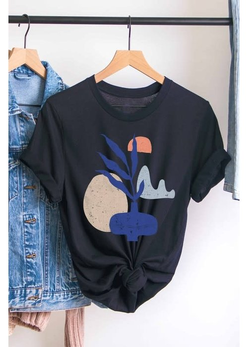 Abstract Graphic Tee