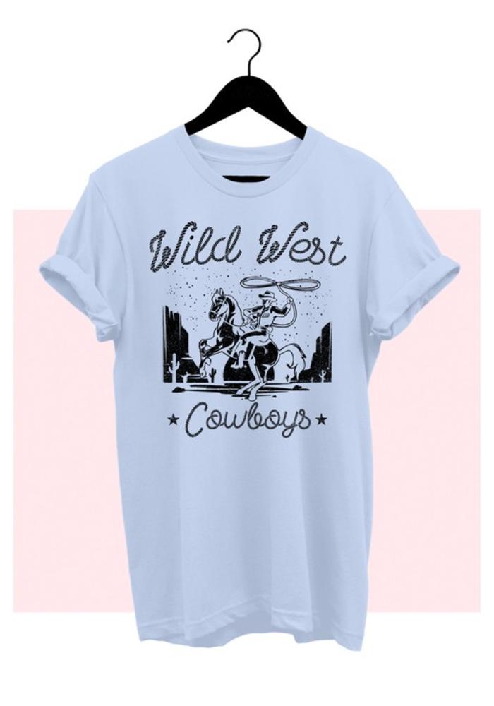"""Wild West"" Graphic Tee"