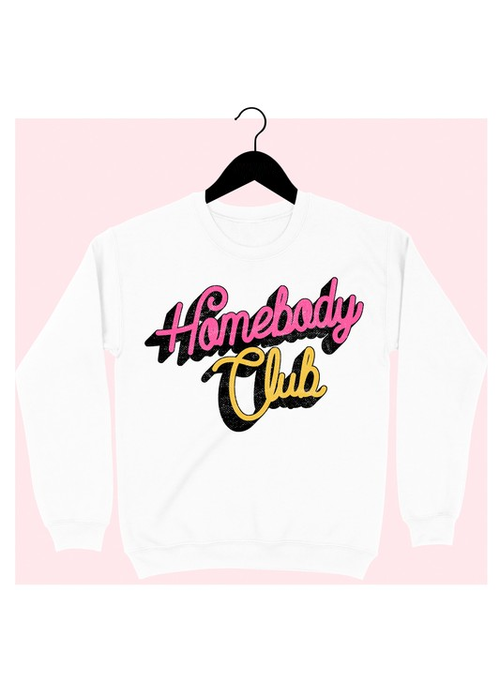 """Homebody Club"" Sweatshirt"