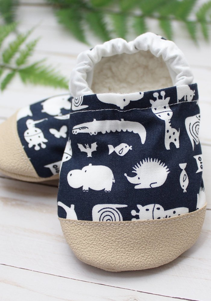 Animal Critters Rubber Sole Booties