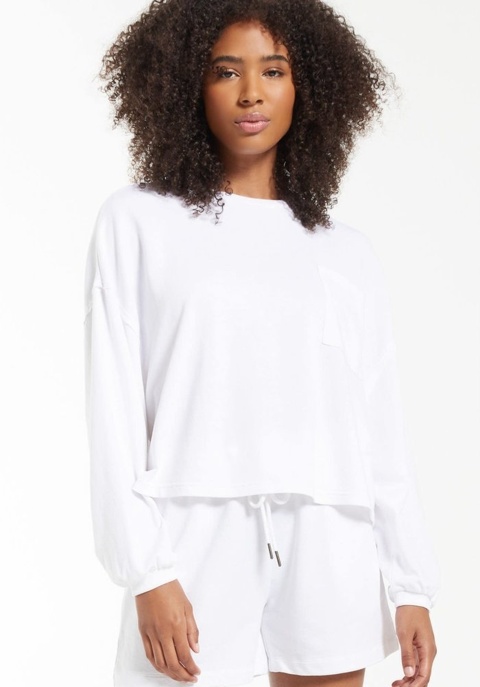 Miki Terry Long Sleeve Top