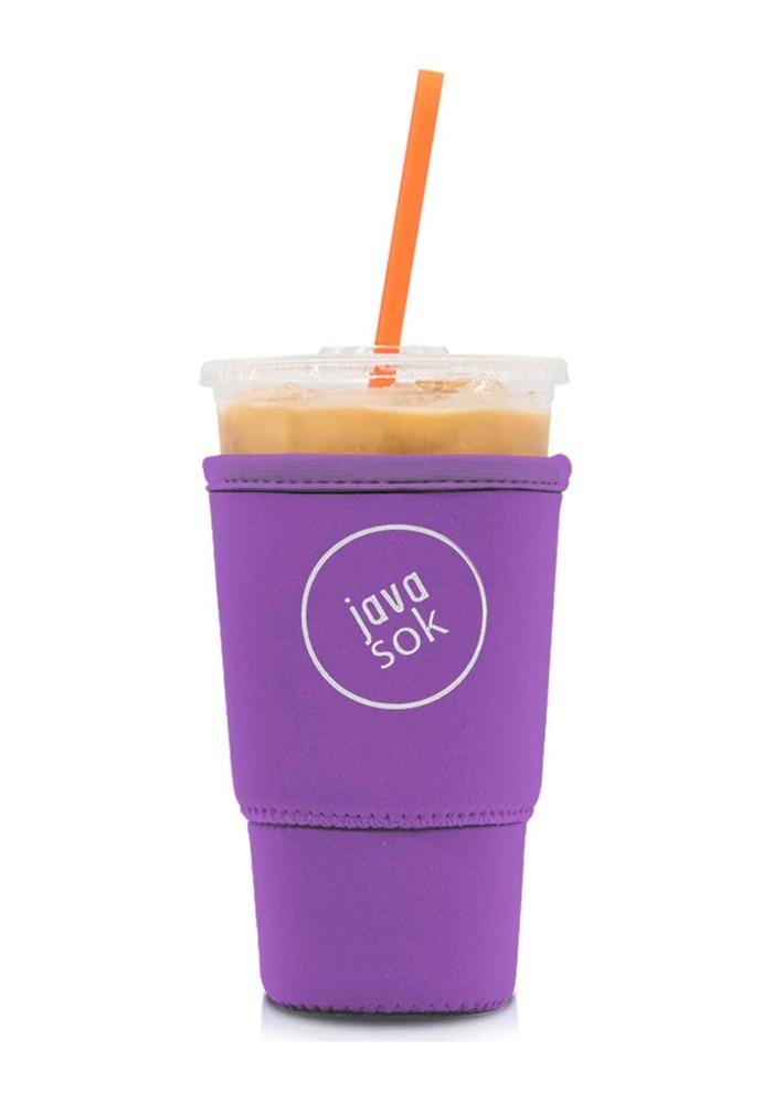 """Poppin' Purple"" Iced Coffee Java Sok"