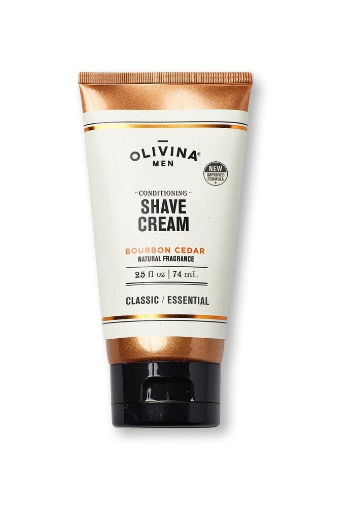 Men's Bourbon Cedar Conditioning Shave Cream