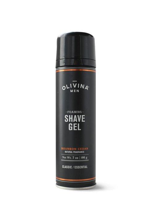 Men's Bourbon Cedar Foaming Shave Gel