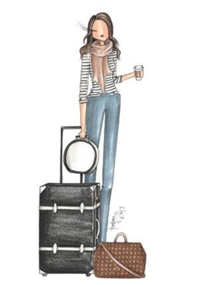 """""""BNA"""" Brittany Fuson™ Luggage Tag"""
